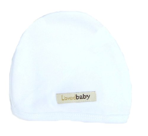 L'Ovedbaby Cute Cap, White, 6/12 M front-1071829