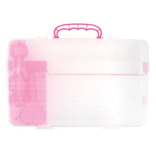 New We R Memory Keepers Sew Easy Storage Case for Scrapbooking