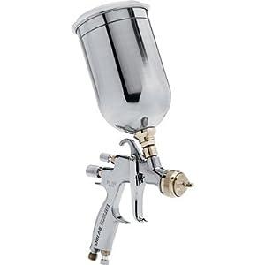 Binks HVLP Spray Gravity Gun with 1-Liter Cup - Model 7042-6931-4