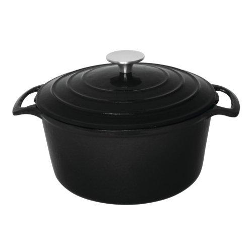 vogue-runder-schmortopf-schwarz-kapazitaet-32-liter-groesse-120h-x-205amm-farbe-schwarz