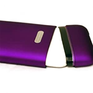 CaseCrown iPhone 3G and 3GS Soft Polycarbonate Glider Slim Fit Case - Purple Amethyst