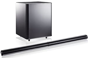 "Samsung 46"" 310 Watt 2.1 Channel Wireless Soundbar Home Theater Speaker System (Silver)"