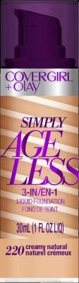 CoverGirl Simply Ageless 3-in-1 Liquid Foundation - Creamy Natural