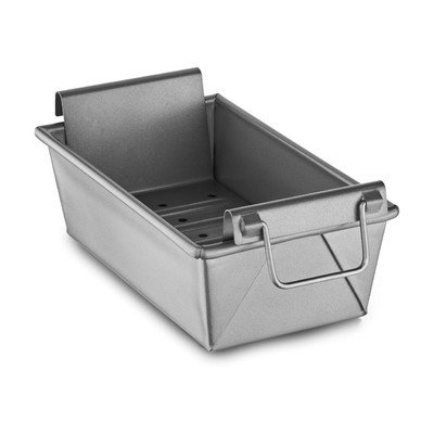 "KitchenAid KBNSO9X5L Professional-Grade Nonstick 9""x5""x3"" Meatloaf Pan with Insert Bakeware"