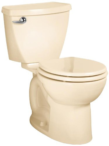 American Standard Cadet 3 Round Front Flowise Two-Piece High Efficiency Toilet With 12-Inch Rough-In, Bone Bone front-755540