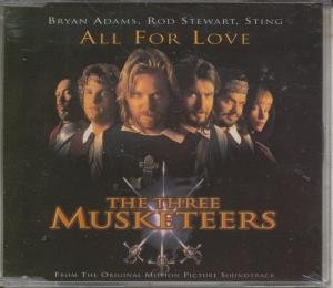 ALL FOR LOVE CD UK A&M 1993