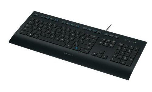 LOGITECH K280e corded Keyboard USB black for Business,...