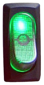 Keep It Clean Sw30G Green 25 Amp/12V Illuminated Rocker Switch 4
