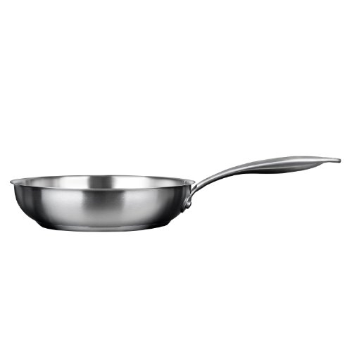 """Duxtop Professional Stainless-Steel Induction Ready Cookware Impact-Bonded Technology (8"""" Fry Pan)"""