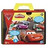 Toy / Game Play-Doh Playset - Disney Pixar Cars 2 With The Roller, Stamps & 3 Two-Ounce Cans Modeling Compound