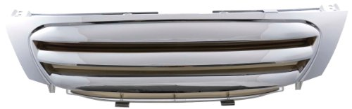 calandra frontal deportiva Citroen C3 Tipo F año/modelo 05-09 cromada