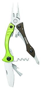 Gerber 31-000620 Crucial Tool with Corkscrew, Green