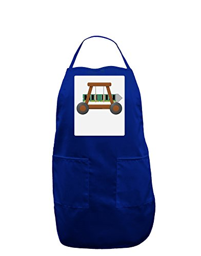 TooLoud Battering RAM Panel Dark Adult Apron - Royal - One-Size