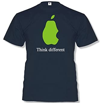 APPLE - THINK DIFFERENT T-SHIRT in Navy by DoubleM Gr. S