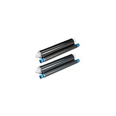 Speedy Inks - Compatible Panasonic KX-FA93 KXFA93 Thermal Fax Ribbon Refill Rolls (2pk) for KX-FHD331 KX-FHD332
