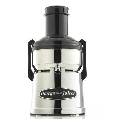 Omega BMJ390 Mega Mouth Pulp Ejection Juicer, Chrome