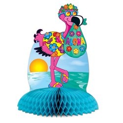 Flamingo Centerpiece Party Accessory (1 count) (1/Pkg)