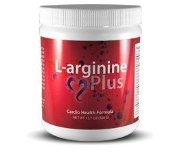 L-arginine Plus -- 5,000mg L-arginine & 1,000mg L-citrulline per serving