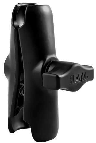 "RAM Mounts UNPKD RAM DOUBLE SOCKET ARM, 1"" BALL, RAM-B-201U (1 BALL)"