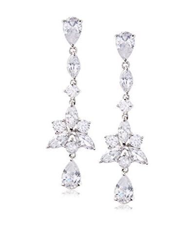 CZ by Kenneth Jay Lane Pear Linear Star Drop Post Earrings