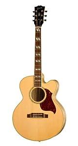 Gibson J-165 EC Acoustic-Electric Guitar, Maple, Antique Natural