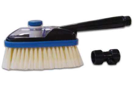 SpareHand Multi-Purpose Cleaning Brush with Solution Chamber and Hose Attachment (Mcquires Car Wash Kit compare prices)