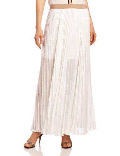 BCBGMAXAZRIA Women's Estel Sunburst Pleated Maxi Skirt