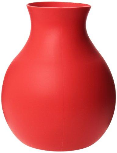 Menu 4752339 Gummivase, gross, rot