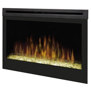 Dimplex DFG3033 33-Inch Self-Trimming Electric Firebox with Glass Ember Bed