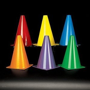 Assorted Car Racing Games Traffic Cones