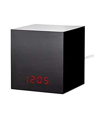 Black Box LED Clock to Hide Your Nest Cam/Dropcam Turn Your Nest Cam/Dropcam Into a Spy Camera - For Nest Cam and Dropcam PRO