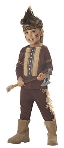 Toddler Little Warrior Indian Costume Size 3-4T