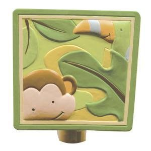 Lambs & Ivy Papagayo Night Light, Green