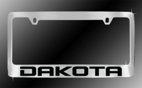 Dodge Dakota Chrome License Plate Frame (Dodge Dakota License Plate Frame compare prices)
