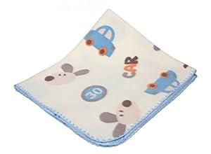 ByBUM® - Manta para recién nacido / Manta para bebé / Manta suave disponible en muchos colores y estampados, 80x90 cm; FABRICADA EN LA UNIÓN EUROPEA en BebeHogar.com
