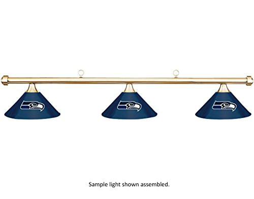 NFL-Seattle-Seahawks-Blue-Metal-Shade-Brass-Bar-PoolBilliard-Table-Light