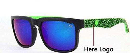 2014 Ken Block Sunglasses Eyewear Glasses Coating Sunglass Women Brand Designer Oculos De Sol Men.