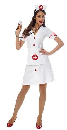 Classic Nurse Adult Costume