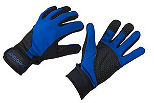 Full Finger Cold Weather Cycling Gloves Blue Large