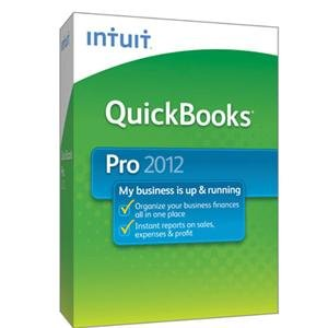 NEW Quickbooks Pro 2012 1 user (Software)