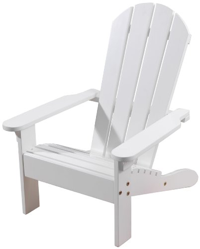 KidKraft Adirondack Chair - White