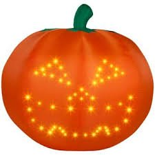 Large Halloween Singing Airblown Inflatable Pumpkin Animated Lightsync To 2 Songs front-832019