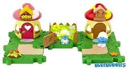 The Smurfs Micro Village Smurfette & Smurf Neighbor Pack