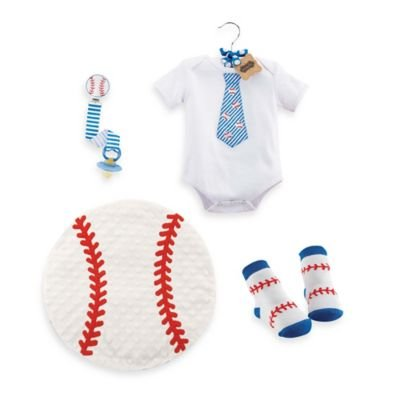 Mud Pie ' 4-piece Deluxe Baseball Gift Set - 1