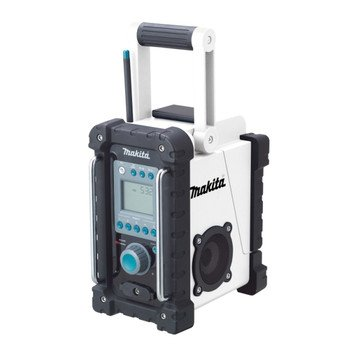 Makita Bmr100W 18-Volt Lxt Lithium-Ion Cordless Fm/Am Job Site Radio (Tool Only, No Battery)