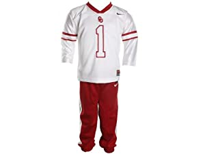 Buy Oklahoma Sooners Nike Infant Football Jersey Uniform by Nike