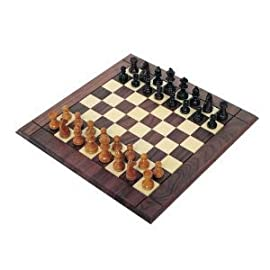826.42 18-Inch Champion Chess Set with 3-Inch Chessmen (Oversized)