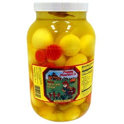 Willamette Egg Farms 1 Gallon Spicy Pickled Eggs (03-0363) Category: Cherries, Olives and Food from Willamette Egg Farms