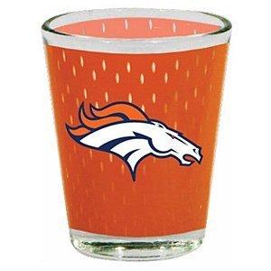 Denver Broncos 2 Oz. Jersey Shot Glass