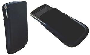 sumo:mobile Handytasche Ledertasche Etui offen Black für Sony Ericsson Elm